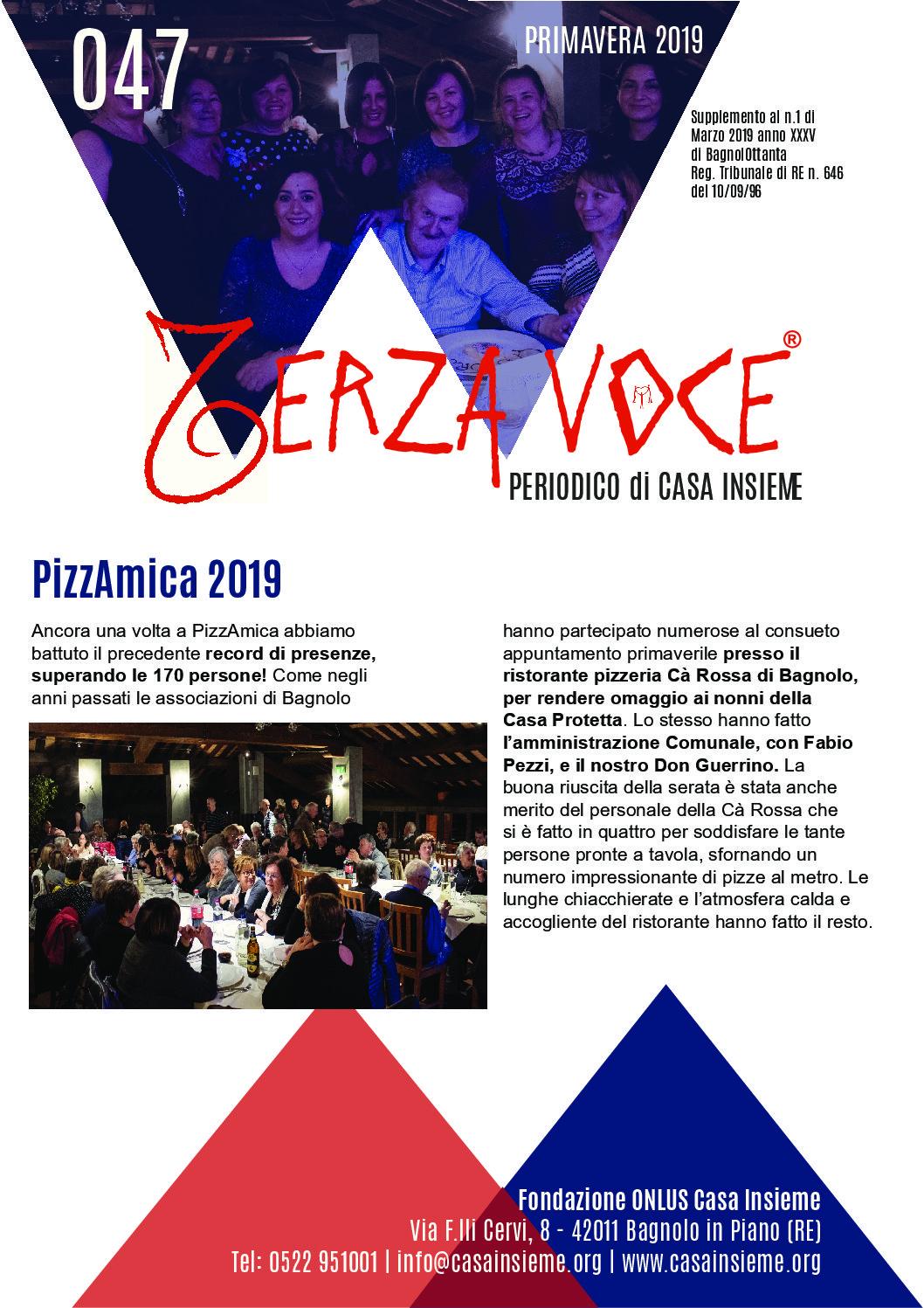 Terza Voce n.47 – Primavera 2019